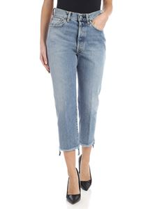 Golden Goose - Jeans Texas cropped raw edge