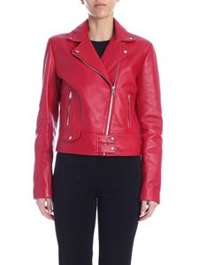 Pinko - Sensibile 4 jackets in strawberry red
