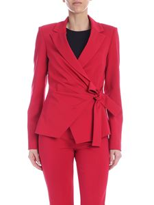Pinko - Caciopepe jacket in strawberry red