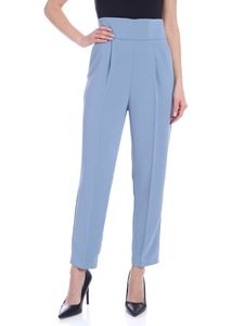Pinko - Natalia trousers in light blue