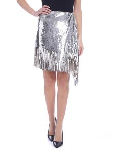 Pinko - Ratatouille skirt in silver