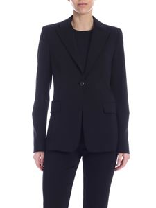 Pinko - Sigma single-breasted jacket in black