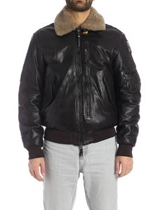 Parajumpers - Josh jacket in black leather