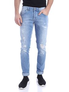 Dondup - Destroyed effect George jeans in blue