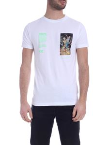 Off-White - T-shirt Pascal Painting SS bianca