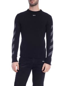 Off-White - Diag pullover in black