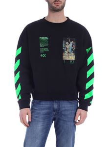 Off-White - Felpa Pascal Painting nera