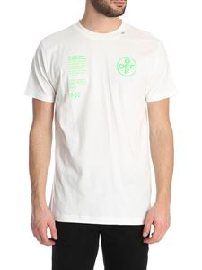 Off-White - Arch Shapes SS t-shirt in white