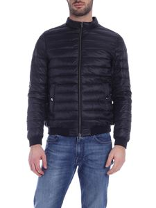 Herno - Down jacket black with logo