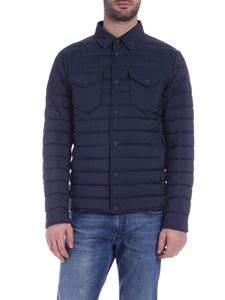 Herno - Legend down jacket in blue with logo