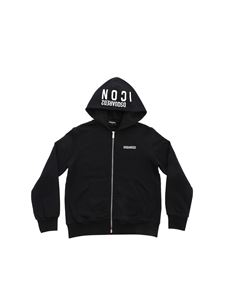Dsquared2 - Black hoodie with white Icon print