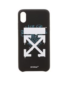 Off-White - Cover Dripping Arrows in black white and blue