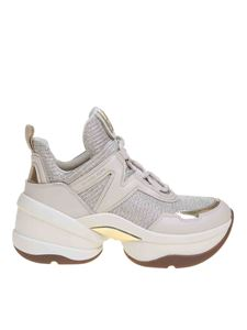 Michael Kors - Olympia Trainer sneakers in Pale Gold