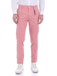 Ribbon Clothing - Pantalone rosa con charm