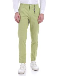 Ribbon Clothing - Pantalone verde lime con charm