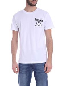 Moschino - Distorted Double Question Mark T-shirt in white