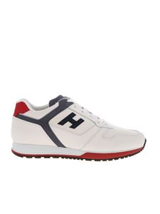 Hogan - H321 sneakers in white and pale blue