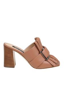 Sergio Rossi - Sandals SR Prince in tan leather