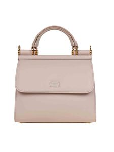 Dolce & Gabbana - Small Sicily 58 bag in powder pink