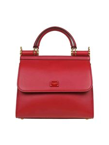Dolce & Gabbana - Sicily 58 small bag in Papavero Red