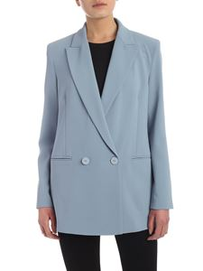 Pinko - Bavarese 1 jacket in pale blue color