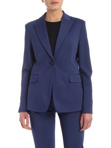 Pinko - Sigma single-breasted jacket in blue