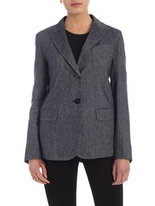 Max Mara Weekend - Zulma blue denim effect jacket