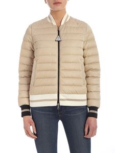 Moncler - Or down jacket in gold color