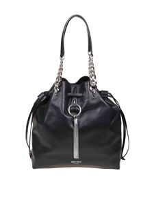 Jimmy Choo - Secchiello Callie Drawstring L nero