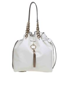 Jimmy Choo - Secchiello Callie Drawstring L color Latte