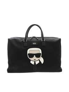 Karl Lagerfeld - Weekender K/Ikonik bag in black