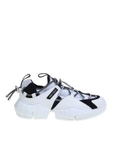 Jimmy Choo - Sneakers Diamond Trail F in Black White