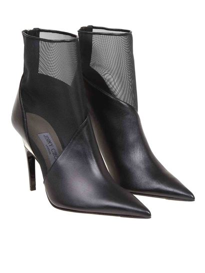 Jimmy Choo - Sioux 100 ankle boots in black