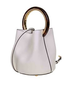 Marni - Pannier bag in white leather