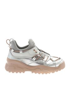 Pinko - Cumino 2 sneakers in silver color