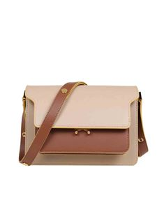 Marni - Trunk bag in beige brown and green