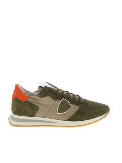 Philippe Model - Trpx Mondial sneakers in Army green