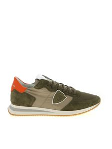 Philippe Model - Trpx Mondial sneakers in Army green color