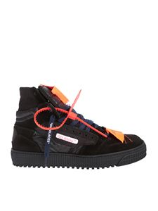 Off-White - Off-Court High Top sneakers in black