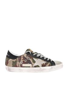 Golden Goose - Superstar sneakers with camouflage print