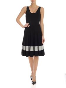 Theory - Viscose and rayon knit dress in black