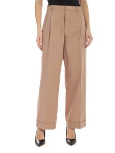 Maison Margiela - Lapel on the bottom pants in camel color