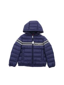 Moncler Jr - Renald down jacket in blue