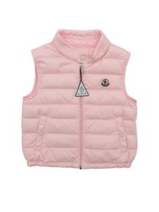 Moncler Jr - New Amaury waistcoat in pink