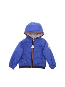 Moncler Jr - Anton jacket in electric blue