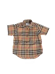 Burberry - Fredrick shirt in Beige Archive color