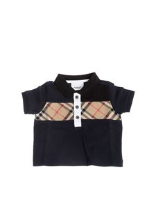 Burberry - Polo Mini Jeff nera