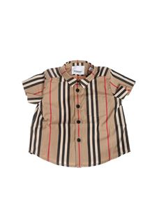 Burberry - Shirt with pocket in Archive Beige