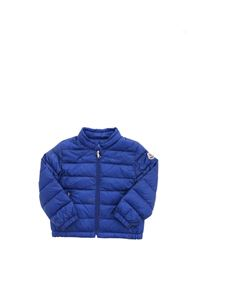 Moncler Jr - Acorus down jacket in electric blue