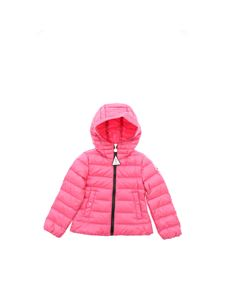 Moncler Jr - Glycine down jacket in pink